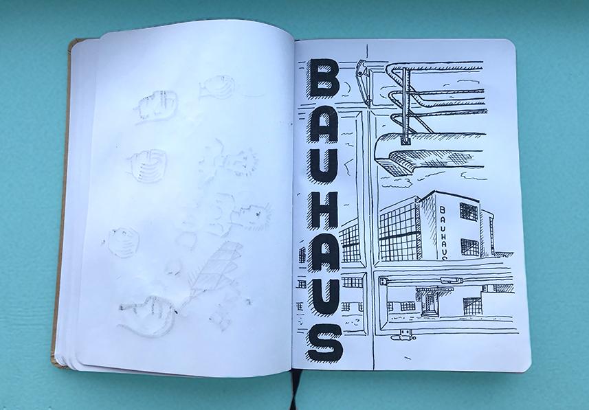 Schetsboeken item 01