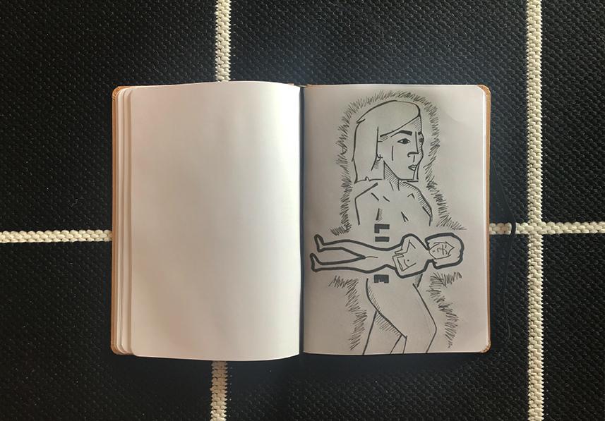 Schetsboeken item 02