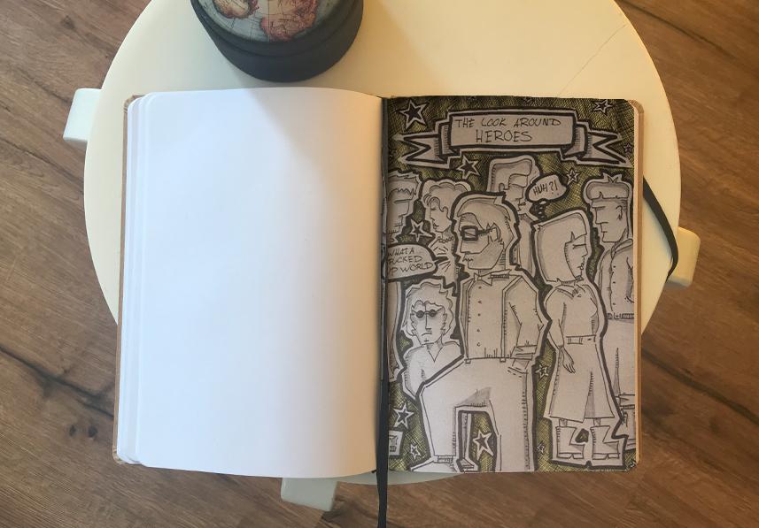 Schetsboeken item 05