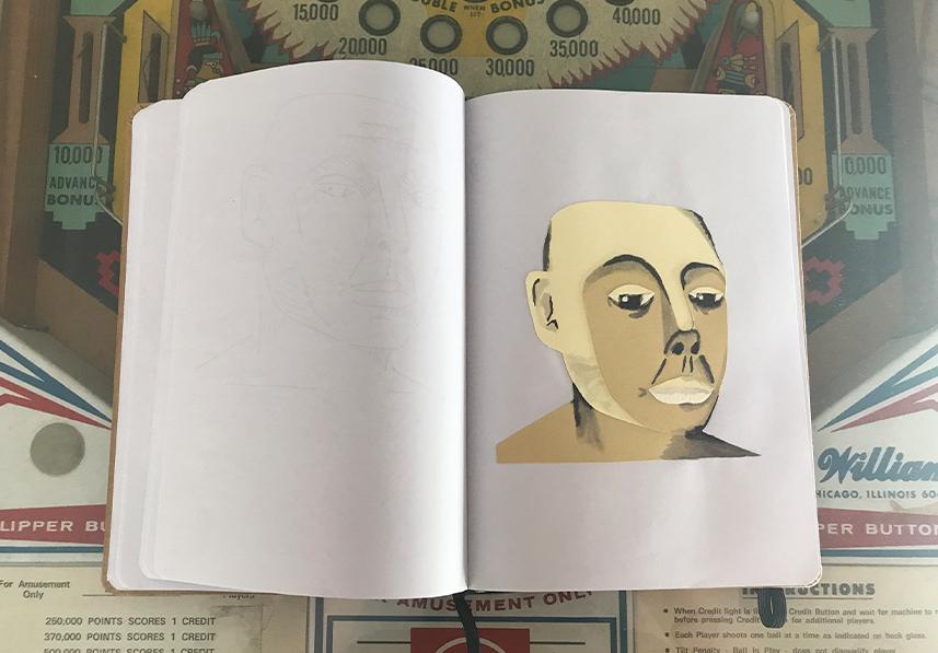 Schetsboeken item 08